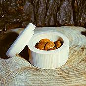 Материалы для творчества handmade. Livemaster - original item A Cup a blank for Decoupage A box for Painting Siberian Cedar DK4. Handmade.