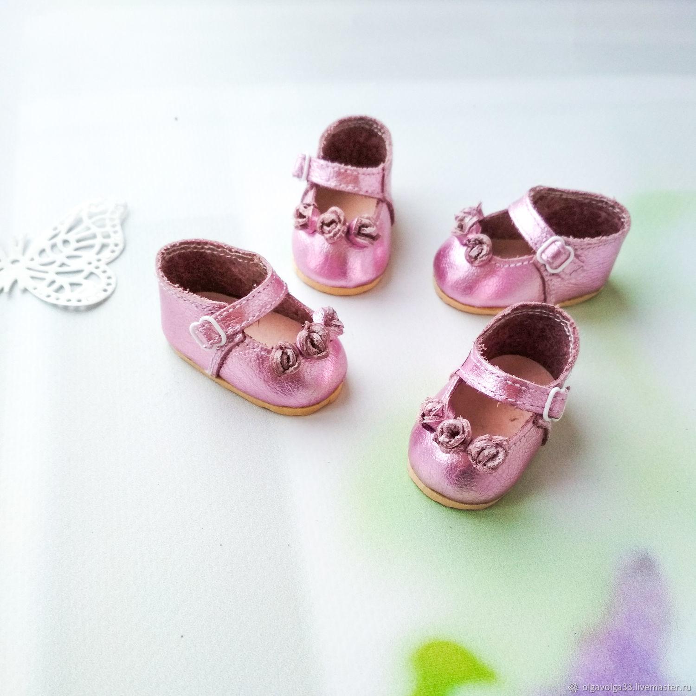 Туфельки для Паолы Рейна розовое золото, Одежда для кукол, Липецк,  Фото №1