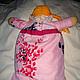 Пижамница комфортер игрушка кукла  Вид со спины