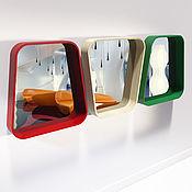 Для дома и интерьера ручной работы. Ярмарка Мастеров - ручная работа Зеркало настенное в форме трапеции SIGN. Handmade.