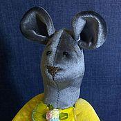 Куклы и игрушки ручной работы. Ярмарка Мастеров - ручная работа Текстильная Мышка. Handmade.