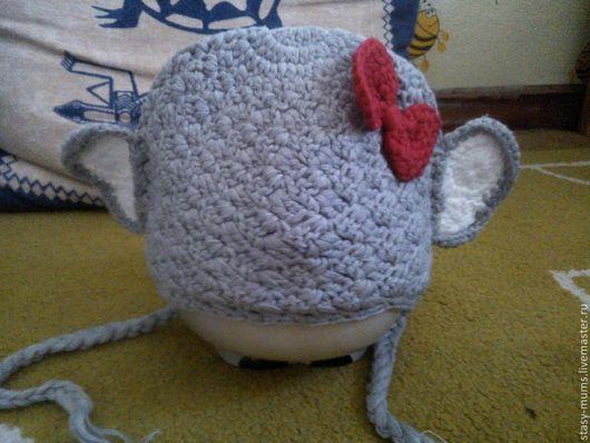 Шапки и шарфы ручной работы. Ярмарка Мастеров - ручная работа. Купить hello kitty шапки. Handmade. Шапка, шапка вязаная