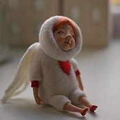 Куклы и игрушки ручной работы. Ярмарка Мастеров - ручная работа Ангел, смотрящий в небо. Handmade.