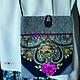 Женские сумки ручной работы. Сумка-карман. ART EVA. Ярмарка Мастеров. Сумка ручной работы, handmade, сумка из платка