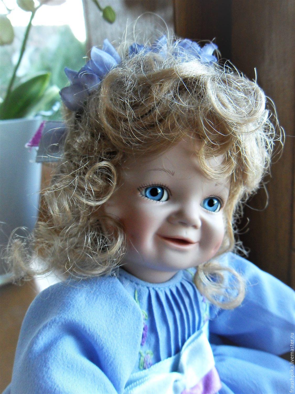 Collectible porcelain doll Wisteria means friendship, Dolls, Kempten,  Фото №1