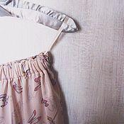 """Одежда ручной работы. Ярмарка Мастеров - ручная работа Юбка """"Пудровая"""". Handmade."""