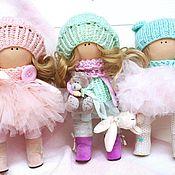 Куклы и игрушки ручной работы. Ярмарка Мастеров - ручная работа интерьерные куклы тильда. Handmade.