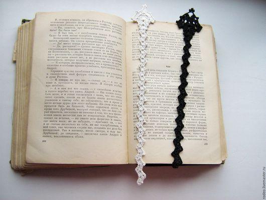 Закладки для книг ручной работы. Ярмарка Мастеров - ручная работа. Купить Закладки для книг. Handmade. Бежевый, закладка, книги, вязаный