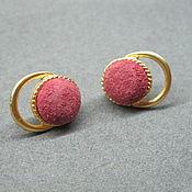 Винтаж handmade. Livemaster - original item unusual earrings. Handmade.