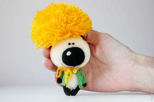Мишки Тедди ручной работы. Ярмарка Мастеров - ручная работа. Купить Мистер Одуван - миниатюрный мишка - подарок!. Handmade. Комбинированный