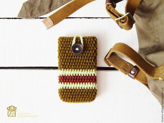 """Для телефонов ручной работы. Ярмарка Мастеров - ручная работа. Купить Чехол для смартфона / iPhone / телефона """" Путешественник """". Handmade."""