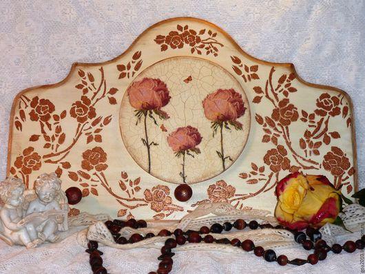 Прихожая ручной работы. Ярмарка Мастеров - ручная работа. Купить Dans l'entourage des roses вешалка. Handmade. Комбинированный, винтаж