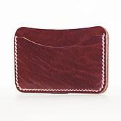 Сумки и аксессуары handmade. Livemaster - original item Cordovan card holder card case. Handmade.