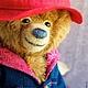 Мишки Тедди ручной работы. Заказать Тедди медвежонок Падди. Крошка СЛОН (kroshka-slon). Ярмарка Мастеров. Тедди