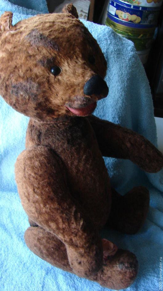 Винтажные куклы и игрушки. Ярмарка Мастеров - ручная работа. Купить Медведь винтаж 50 годы полная реставрация. Handmade. Комбинированный