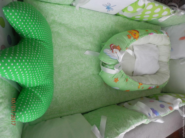 Кокон для новорожденных своими руками сшить фото