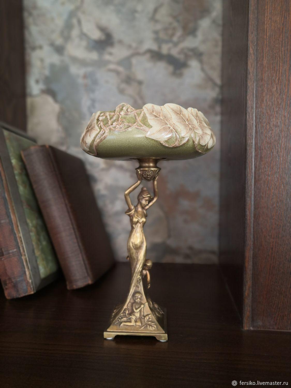 ШИКАРНЕЙШАЯ большая фарфоровая ваза с девушкой!!!, Вазы, Ессентуки,  Фото №1