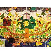 Куклы и игрушки ручной работы. Ярмарка Мастеров - ручная работа Развивающий коврик. Handmade.