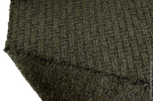 Шитье ручной работы. Ярмарка Мастеров - ручная работа. Купить Лоден двусторонний темно-зеленый PRT 29081605 Италия Цена за метр. Handmade.