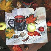 Картины и панно ручной работы. Ярмарка Мастеров - ручная работа Осенний натюрморт. Handmade.