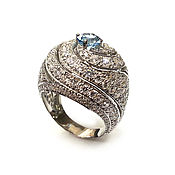 Украшения handmade. Livemaster - original item Silver ring Elegy. Handmade.