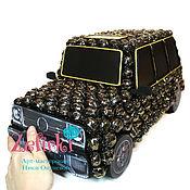 Сувениры и подарки ручной работы. Ярмарка Мастеров - ручная работа Машина из конфет Mercedes Gelandewage машинка подарок мужчине водителю. Handmade.