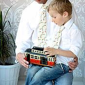 Аксессуары ручной работы. Ярмарка Мастеров - ручная работа детский галстук. Handmade.