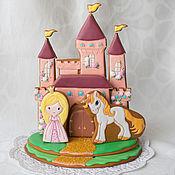 Сувениры и подарки handmade. Livemaster - original item Gingerbread Castle. Handmade.