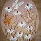 """Картины цветов ручной работы. Ярмарка Мастеров - ручная работа. Купить Вышитая картина """" Веселый день"""". Handmade."""