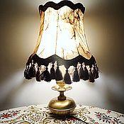 Винтаж handmade. Livemaster - original item Table lamp. Handmade.