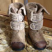 """Обувь ручной работы. Ярмарка Мастеров - ручная работа валенки детские """"Верблюжонок"""". Handmade."""