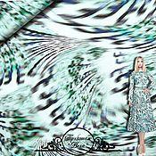 """Материалы для творчества handmade. Livemaster - original item Трикотаж Roberto Cavalli """"Вега"""" итальянские ткани. Handmade."""