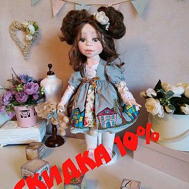 Куклы и игрушки ручной работы. Ярмарка Мастеров - ручная работа Коллекционные куклы. Handmade.