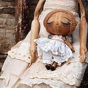 Куклы и игрушки ручной работы. Ярмарка Мастеров - ручная работа Бабочка-кукла. А-115. Handmade.