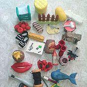 Мини фигурки и статуэтки ручной работы. Ярмарка Мастеров - ручная работа Игрушки для логопедии. Handmade.