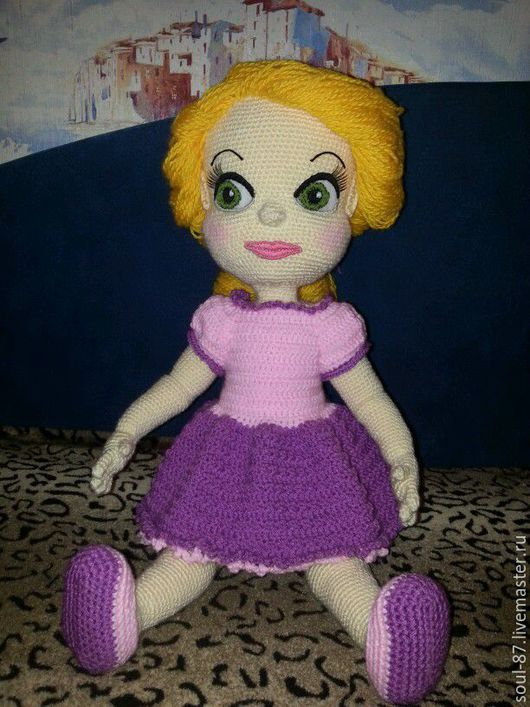 Куклы-младенцы и reborn ручной работы. Ярмарка Мастеров - ручная работа. Купить Рапунцель. Handmade. Бежевый, игрушка для детей, подарок