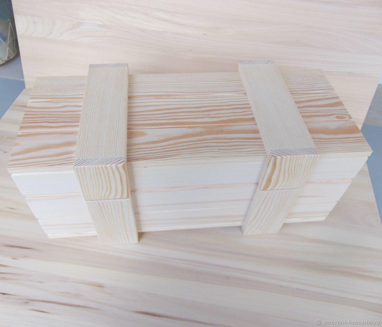 Деревянная заготовка Короб под вино, Заготовки, Псков, Фото №1