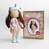 Материалы для творчества handmade. Livemaster - original item Set for sewing dolls Unicorn, master class for beginners. Handmade.
