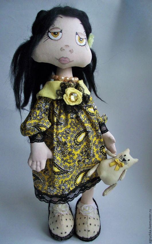 Ароматизированные куклы ручной работы. Ярмарка Мастеров - ручная работа. Купить Мечтательная Нелли. Handmade. Кукла ручной работы