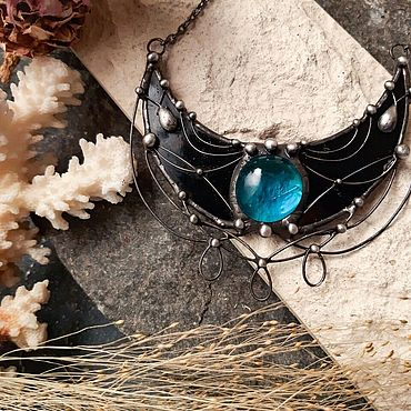 Decorations handmade. Livemaster - original item Lunnitsa the Wind dark forest. Handmade.