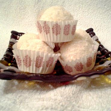 Косметика ручной работы. Ярмарка Мастеров - ручная работа Скраб сахарно-кокосовый Рафаэлло. Handmade.