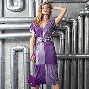 """Одежда ручной работы. Ярмарка Мастеров - ручная работа Платье """"квадраты"""" джерси. Handmade."""