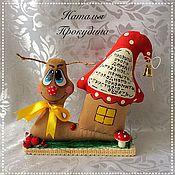 Куклы и игрушки ручной работы. Ярмарка Мастеров - ручная работа Улитка ароматизированная.. Handmade.
