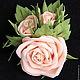 цвет розы - персик