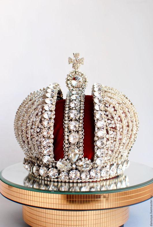 Сувениры ручной работы. Ярмарка Мастеров - ручная работа. Купить Малая императорская корона. Handmade. Корона, малая корона