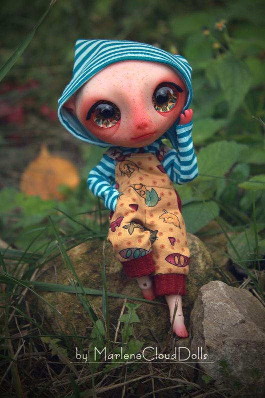 Коллекционные куклы ручной работы. Ярмарка Мастеров - ручная работа. Купить Изгой в комбинезоне. Шарнирная кукла. BJD. Handmade. Комбинированный