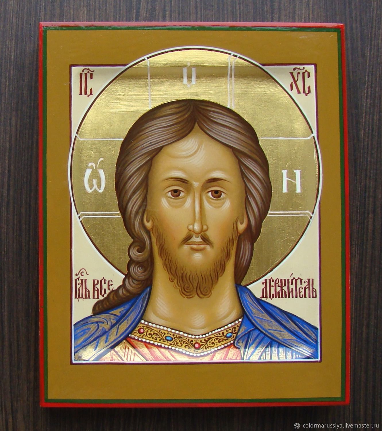 Icon 'Lord Almighty' (handwritten), Icons, Vyazniki,  Фото №1