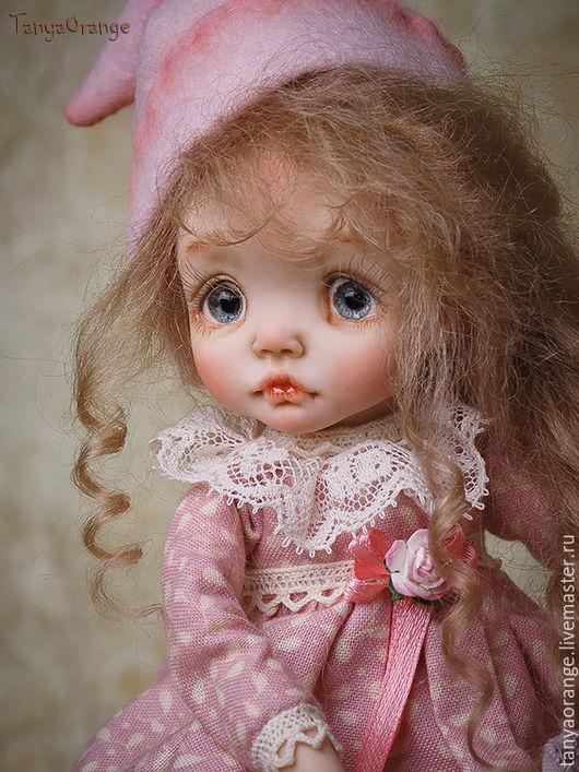 Коллекционные куклы ручной работы. Ярмарка Мастеров - ручная работа. Купить гномочка Зефирка. Handmade. Малышка, авторская ручная работа