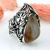 Украшения ручной работы. Ярмарка Мастеров - ручная работа Уникальное кольцо из серебра с сердоликом. Handmade.