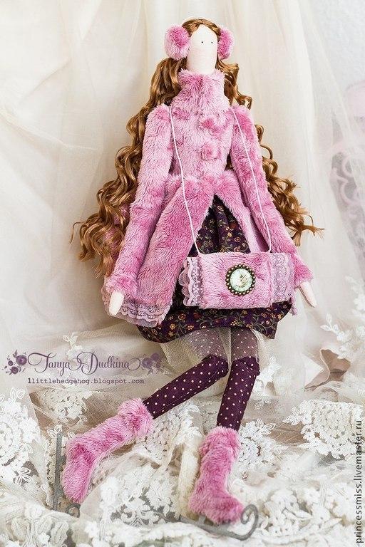 Куклы Тильды ручной работы. Ярмарка Мастеров - ручная работа. Купить Тильда Адель. Handmade. Тильда, принцесса, кукла